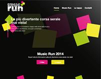 Music Run - Logo, website + online/offline campaign