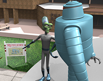 3D Animated Character Designs