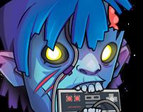 Assembly Zombie Illustration