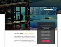 Web design/ Boutique apart.