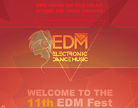 EDM CONCERT Promotional poster