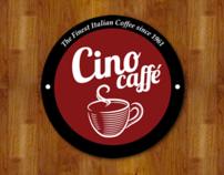 Cino Caffe, logo design