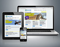 Responsive web design for TCS