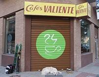 reproducción logotipo del cafe 24