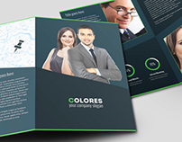 Colores Brochure Corporate Bi Fold