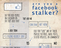 Facebook Stalking Infographic