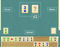 Game client design for Turkish rummikub