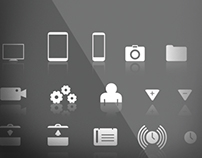 Random Assortment of Symbols and Icons
