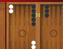Game client design for backgammon