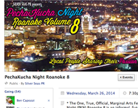 Facebook Graphics - PechaKucha RKE Vol 8, March 2014