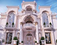 New classic elegant and luxury villa in Qatar