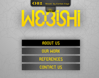 Full flash website design for Webishi