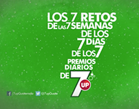 Los 7 retos de 7up