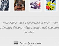 Clean Portfolio Design
