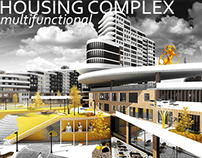 Mixed-use housing comlpex