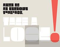 UT Amen Typeface
