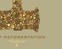 Stop Deforestation / WWF - Poster Design