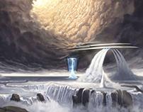 Water-mining ship
