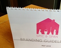 Spic & Span contract cleaners branding