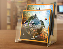 Indesign Brochure Square Design