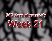 365 days of creativity/art - Week 21