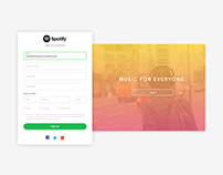 Spotify Signup