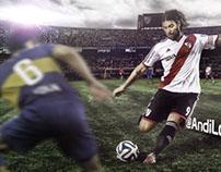 CAVENAGHI - River Plate - 2014
