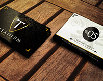 TITANIUM Mens Club, Cards