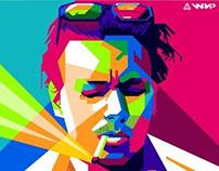 Johnny Depp in WPAP