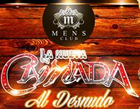 MENS CLUB, Flyer