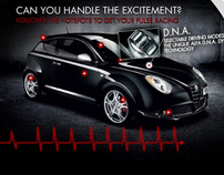 Alfa Romeo MiTo - Interactive Rich-Media Overlay