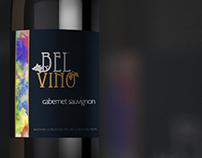 Bel Vino Wine Label