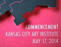 2014 KCAI Commencement Invitation