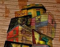 La Boca | Collage Urbano