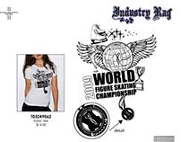 World Figure Skating Championship T-shirt