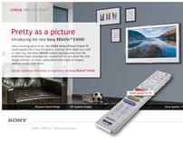 Sony Bravia - Interactive Product Microsite