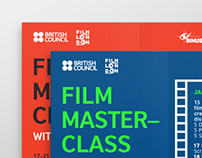 Film Masterclass Poster