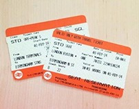 National Rail Ticket Redesign