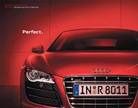 Audi - Practice Practice Practice - Poster