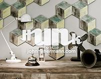 HUNKmq, wooden wall decor