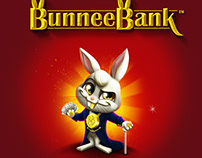 BunneeBank™ - Cover box design & Marketing materials
