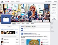 Nouveau design pour Facebook Page