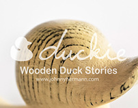 DUCKIE, wooden duck stories
