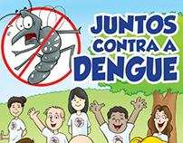 """Quadrinho """"Juntos contra Dengue"""""""