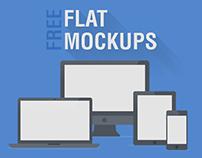 Free Flat MockUps