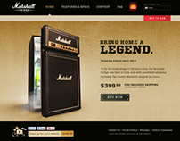 Marshall Fridge - Website/Ecom