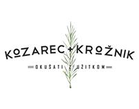 Kozarec+Krožnik Culinary Event Identity