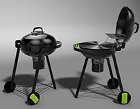 Charcoal BBQ for BLOOMA