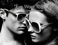 "Gucci - ""Eye Want you""- facebook app"