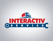 Interactive Service Logo and Flyer